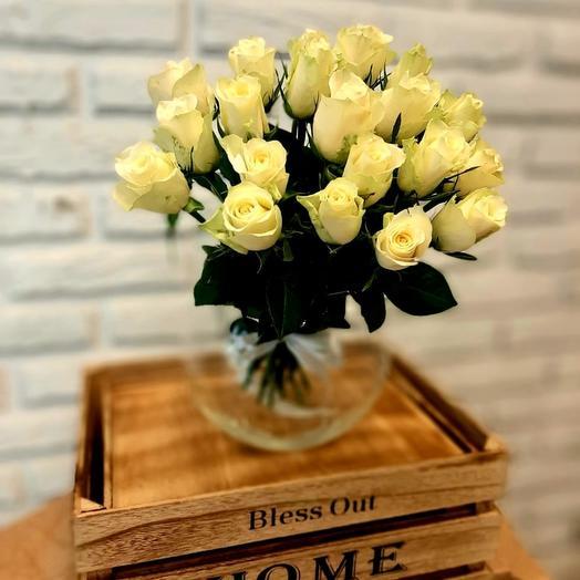 """""""НК"""" 21 белая кенийская роза"""