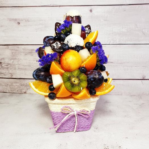 Букет из фруктов мини
