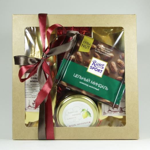 Подарочный набор чай/варенье/шоколад