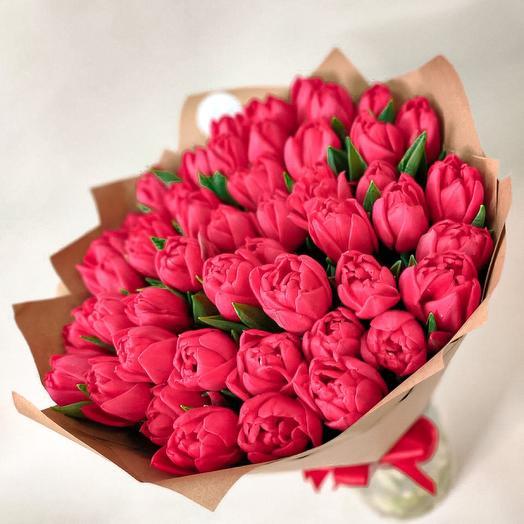 Потрясающие пионовидные тюльпаны
