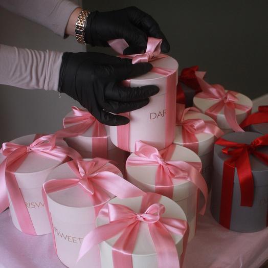 Подарунковий бокс з скрабом для тіла та крем-милом