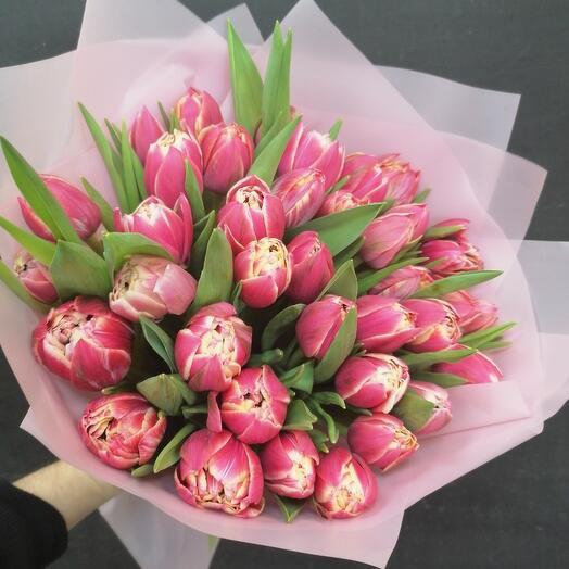 37 ароматных пионовидных тюльпанов 🥰