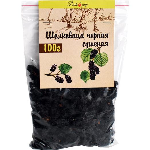Сушеная черная шелковица 100 гр