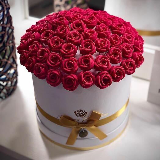 Шоколадные розы 5