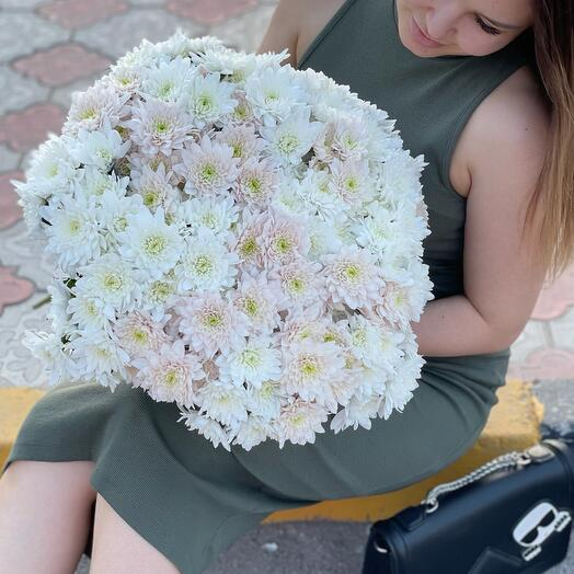 Bouquet of 25 chrysanthemum branches MiX