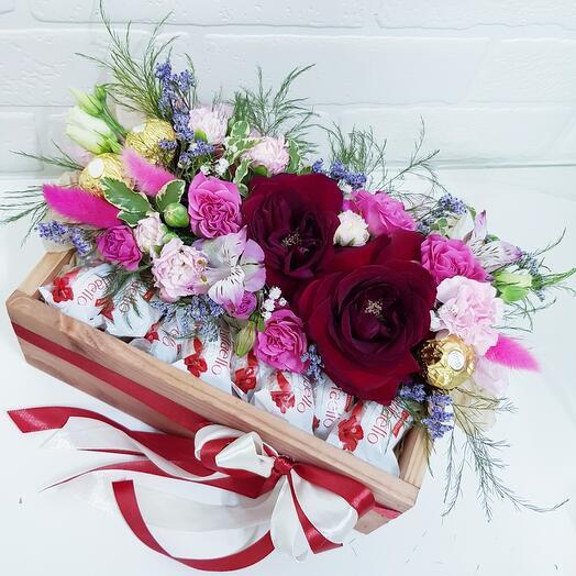Цветы50/рафаэлло50