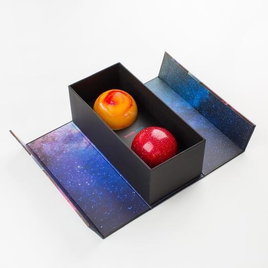 """Шоколадные планеты """"Марс и Венера"""""""