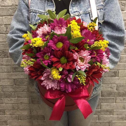 Цветы в коробке 05467