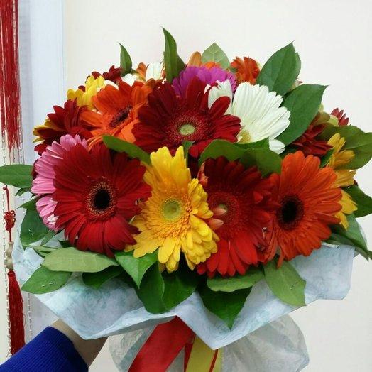 Bunch of 25 gerberas: flowers to order Flowwow