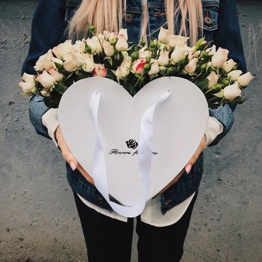 """Коробочка """"С любовью"""": букеты цветов на заказ Flowwow"""
