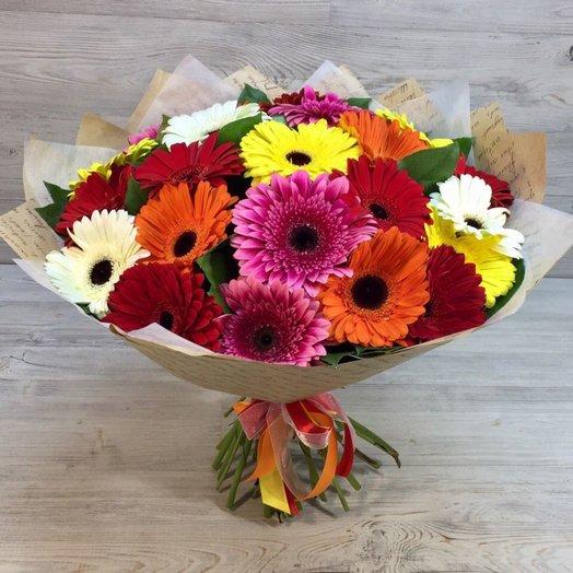 23 герберы: букеты цветов на заказ Flowwow