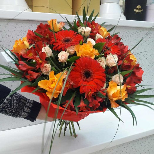 Осенние мотивы: букеты цветов на заказ Flowwow
