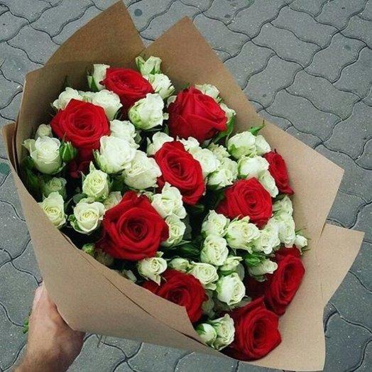 Цветущий рай: букеты цветов на заказ Flowwow
