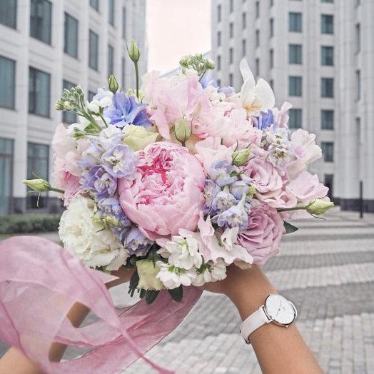 Букет невесты «Нежность»: букеты цветов на заказ Flowwow
