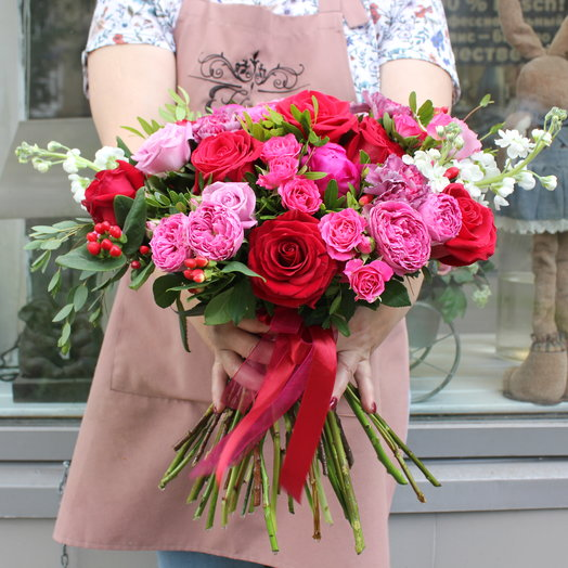 Бохо 16: букеты цветов на заказ Flowwow