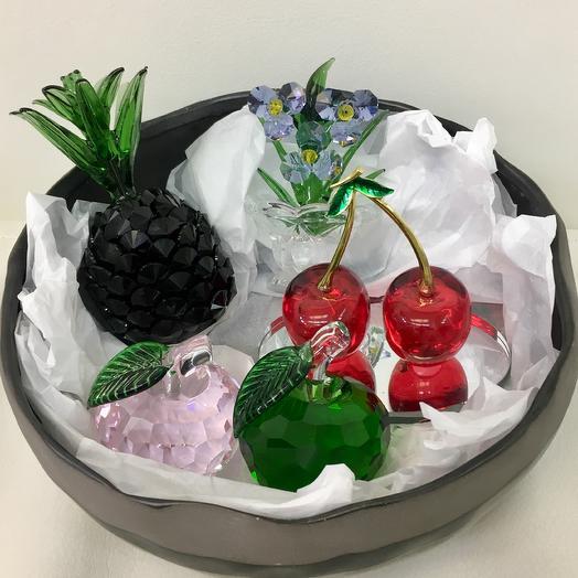 Набор «хрустальные фрукты «: букеты цветов на заказ Flowwow
