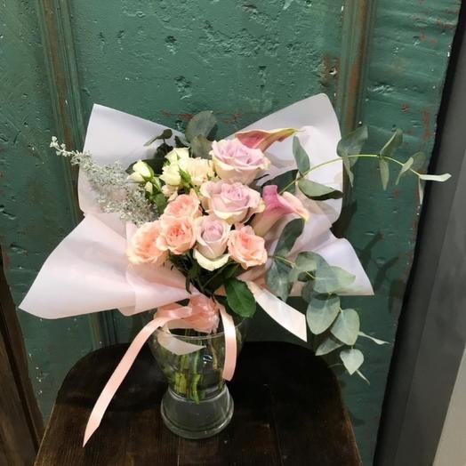 """Букет """"Лавандовая мечта"""": букеты цветов на заказ Flowwow"""