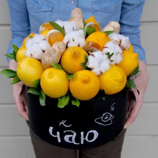 Лимоны: букеты цветов на заказ Flowwow