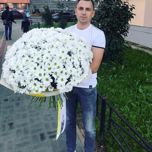 33 хризантемы: букеты цветов на заказ Flowwow
