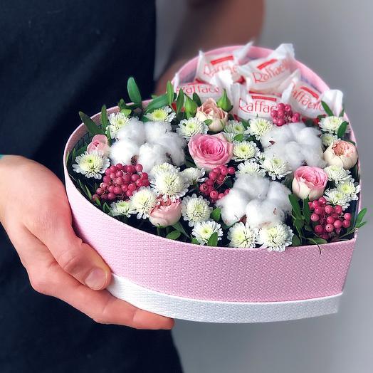Heart 9 Среднее: букеты цветов на заказ Flowwow