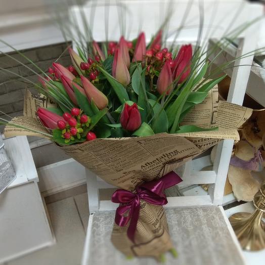Стронг лав: букеты цветов на заказ Flowwow