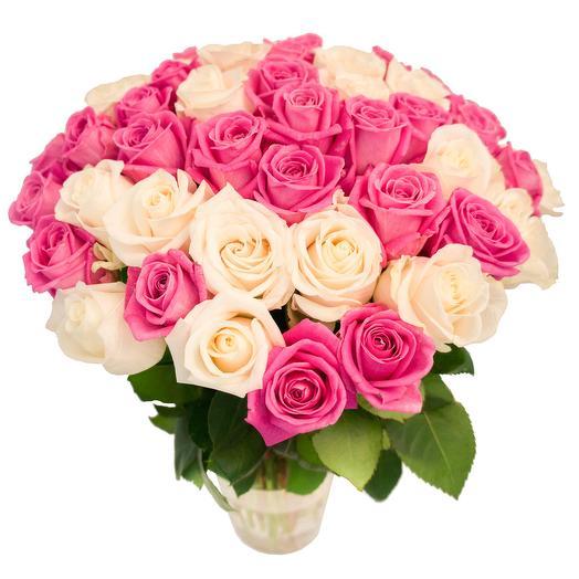 "Букет из 55 роз ""Мария Изабела"": букеты цветов на заказ Flowwow"