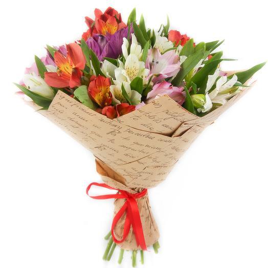 Букет  049: букеты цветов на заказ Flowwow