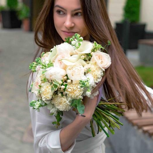 """Букет невесты """"Лебединое озеро"""": букеты цветов на заказ Flowwow"""