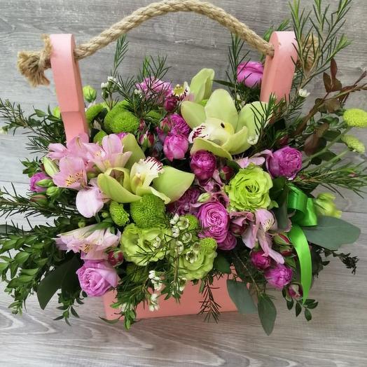 Поляна Эльфа: букеты цветов на заказ Flowwow