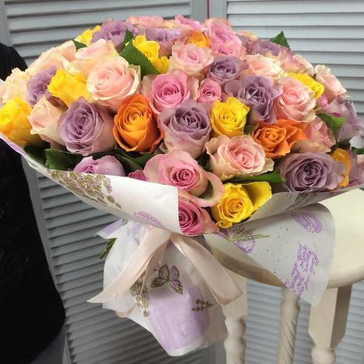 Моей единственной: букеты цветов на заказ Flowwow