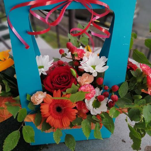 Красавица осень: букеты цветов на заказ Flowwow