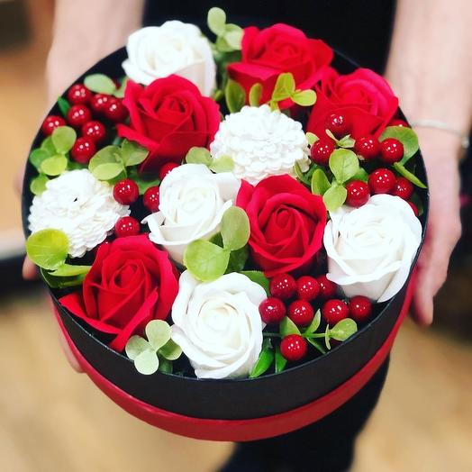 Cake of soap roses: flowers to order Flowwow