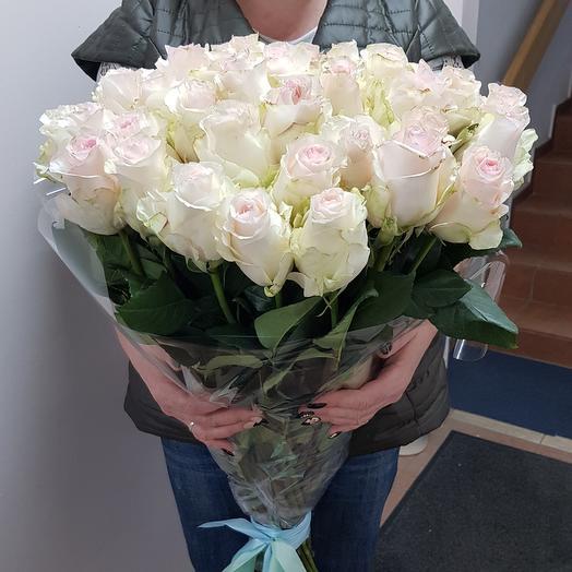 Розы Сеньорита   45 шт: букеты цветов на заказ Flowwow