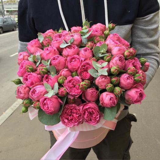 Пионовидная роза мисти: букеты цветов на заказ Flowwow
