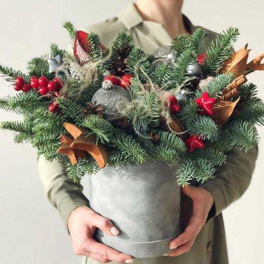 Новогодняя встреча: букеты цветов на заказ Flowwow