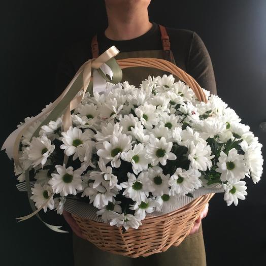 Корзина с летним настроением: букеты цветов на заказ Flowwow