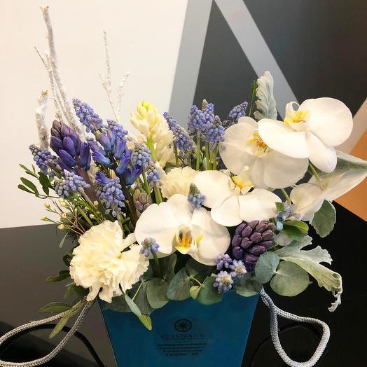 Небесная арфа: букеты цветов на заказ Flowwow