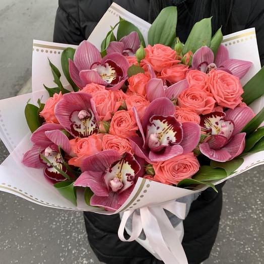 Орхидея с Барбадосом: букеты цветов на заказ Flowwow