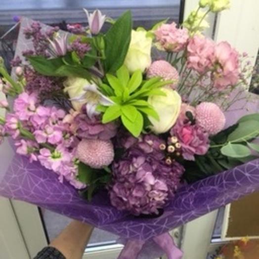 Сиреневые мечты: букеты цветов на заказ Flowwow