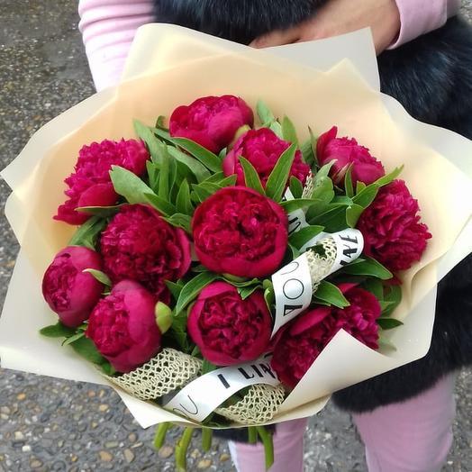 Малиновый бум: букеты цветов на заказ Flowwow