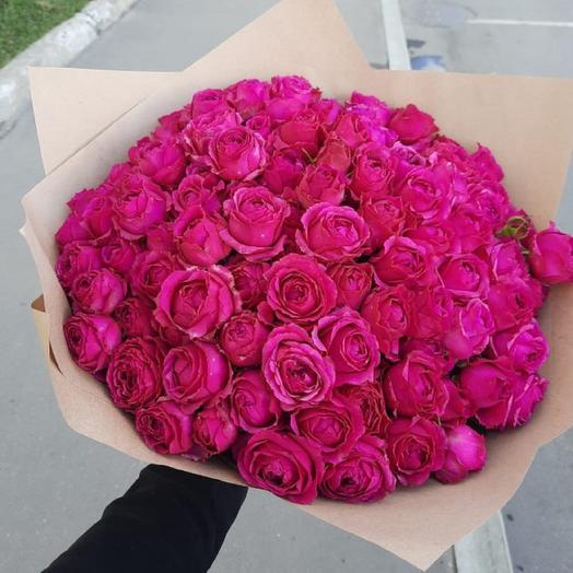 "Букет ""Розовая карамель"""