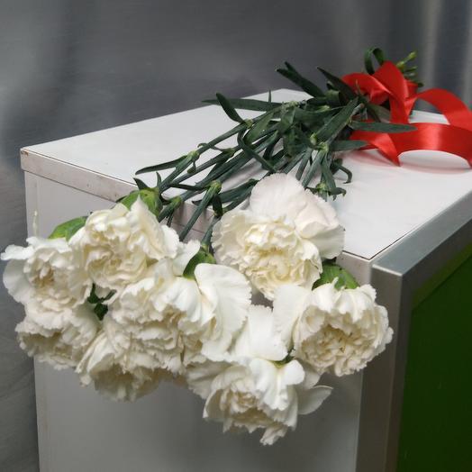 Гвоздика белая: букеты цветов на заказ Flowwow