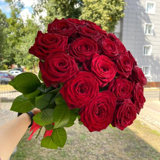 Bouquet 21 red rose