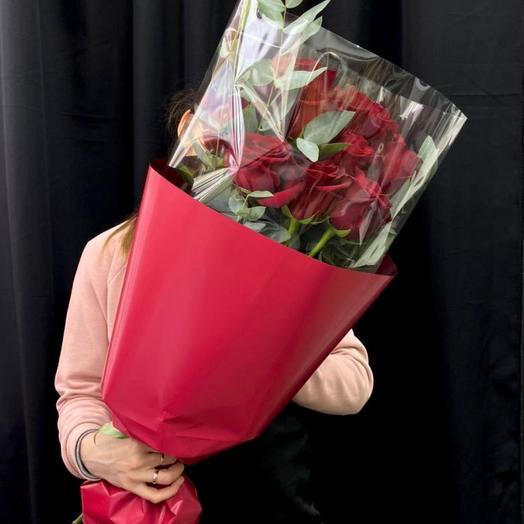 Монобукет из роз