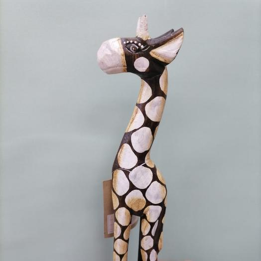 Деревянный жираф