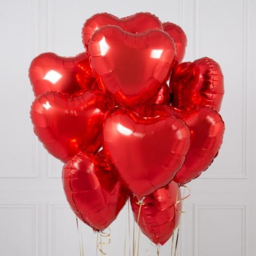 Красный шар сердце ️