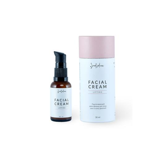 Подтягивающий крем-флюид Lifting для кожи лица (шеи и декольте), SmoRodina