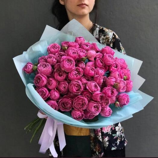 Пионовидная  роза мисти баблос