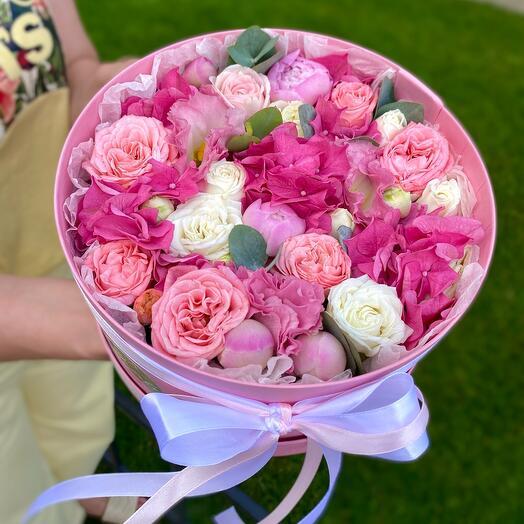 Красивый цветочный торт 😍