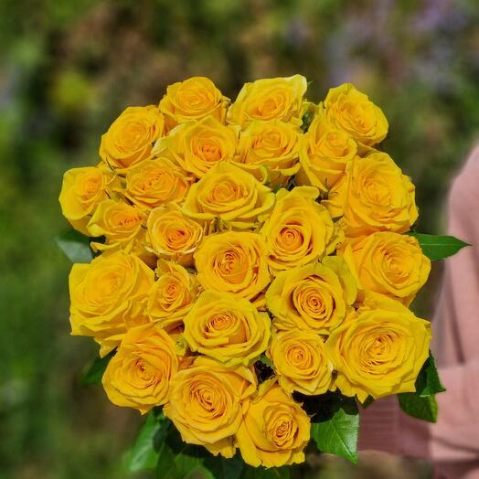 Роза Эквадор 70 см 25 шт